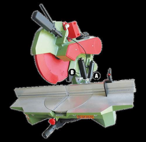 (Monofase)-Troncatrice-per-legno-professionale-GP-350-RT-PEGIC